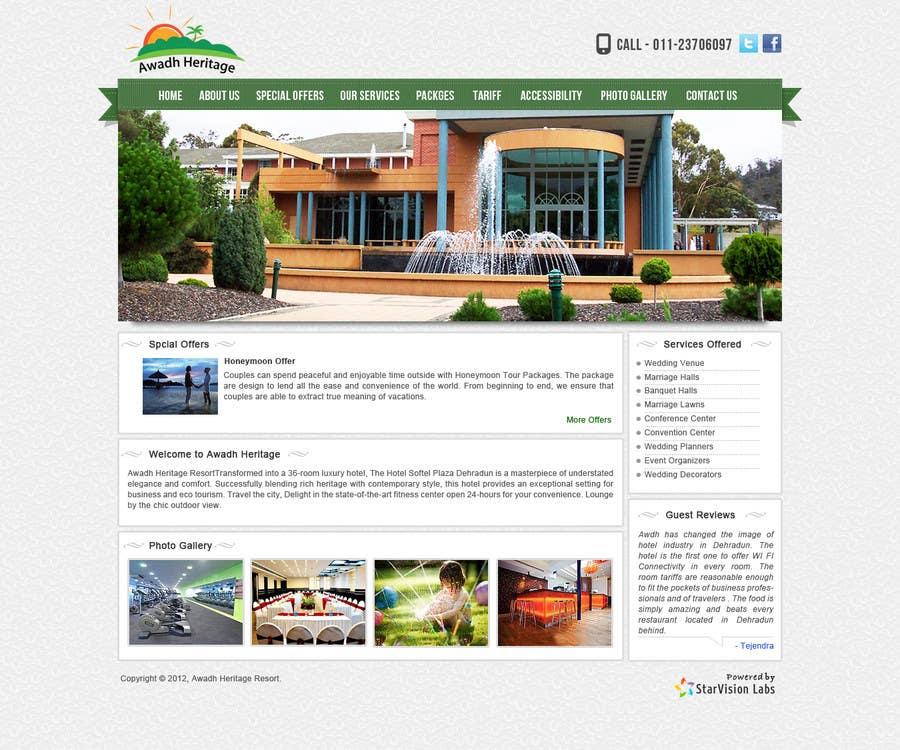 Inscrição nº 8 do Concurso para Design a Website Mockup for  Red Door Properties Ga, LLC