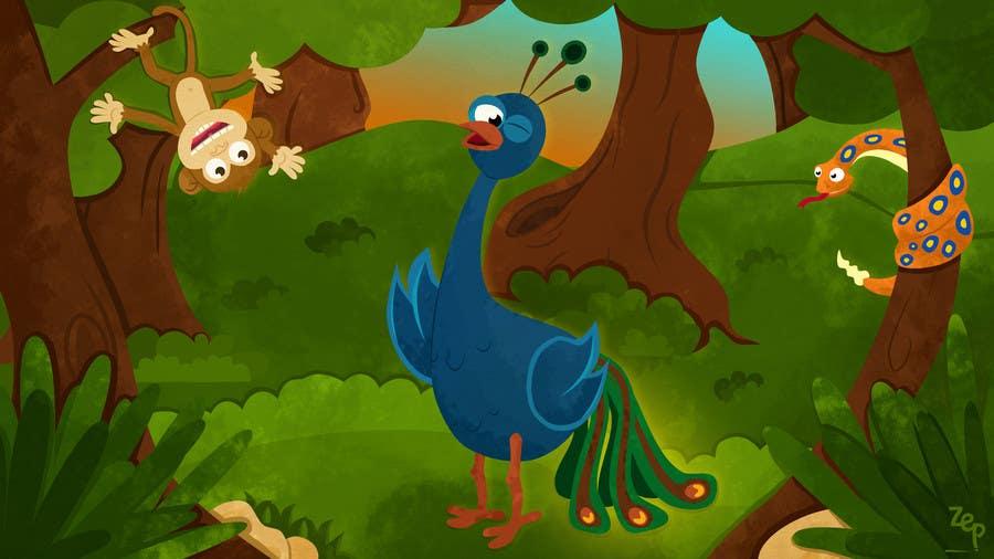 #38 for Illustrate Something for a children's book by ZeynepAktas