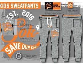 Nro 7 kilpailuun Design sweatpants for vintage kids clothing käyttäjältä evarahikainen
