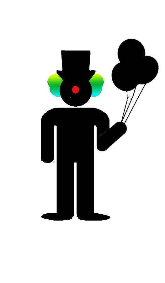 #26 for Minimalistic clown silhouette by CCARIUSE
