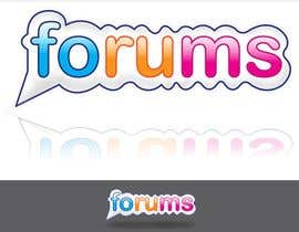 #62 για Logo Design for Forums.com από cukisdesign