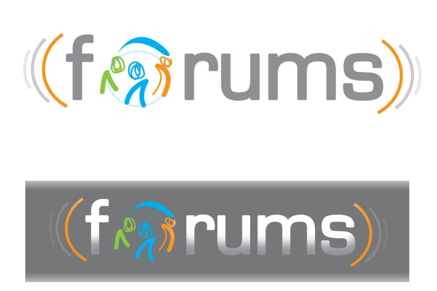Participación en el concurso Nro.                                        36                                      para                                         Logo Design for Forums.com