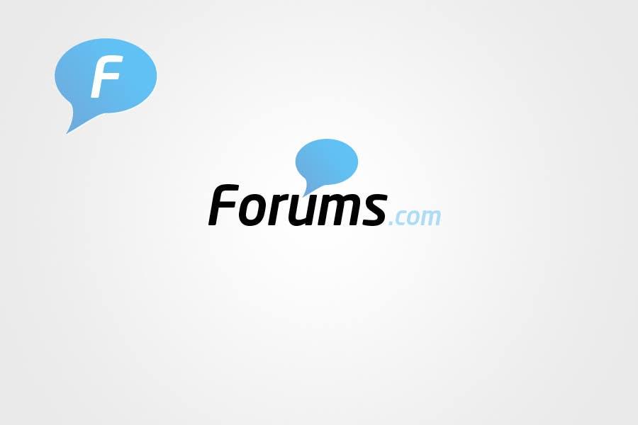 Kilpailutyö #                                        68                                      kilpailussa                                         Logo Design for Forums.com