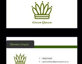 #62 for Design some Business Cards for Green Queen by mogharitesh