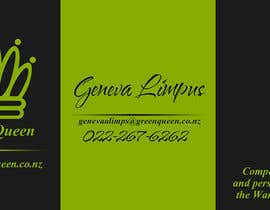 #43 cho Design some Business Cards for Green Queen bởi saeidas