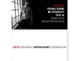 aldoiramjurez tarafından Design a business card for personal training business için no 11