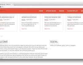 #4 untuk Κατασκευή μιας Ιστοσελίδας for Dragonball Fan Club oleh markhughes1