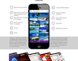nº 17 pour Convert a Template to a Website for a landing Page par webidea12