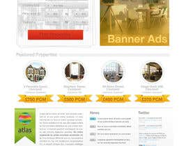 #15 for Design a Website Mockup for Estate Agent af Cornerstone505