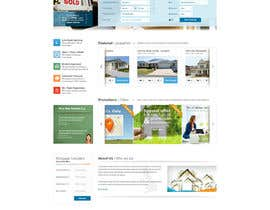 #13 untuk Design a Website Mockup for Estate Agent oleh mbr2