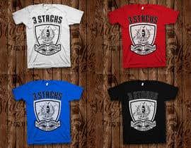 LynArts tarafından Design a T-Shirt 3'Stacks the Barber için no 36