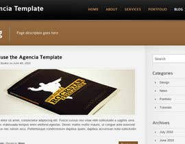 #2 para Create a Professional Wordpress Template for a Website: Recent Graduate (Blogging & Networking) por aneeshtclt