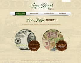 #15 para Redesign an Existing Website for a Currency Auction & Store por tania06