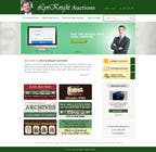 Website Design Konkurrenceindlæg #22 for Redesign an Existing Website for a Currency Auction & Store