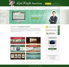 Website Design Konkurrenceindlæg #23 for Redesign an Existing Website for a Currency Auction & Store