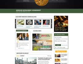 #37 para Redesign an Existing Website for a Currency Auction & Store por alpyraj81