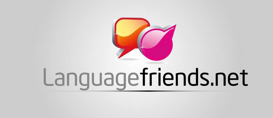 Kilpailutyö #185 kilpailussa Logo Design for An upcoming language exchange partner online portal, www.languagefriends.net