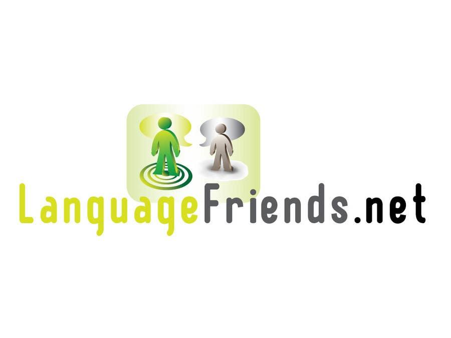 Kilpailutyö #54 kilpailussa Logo Design for An upcoming language exchange partner online portal, www.languagefriends.net