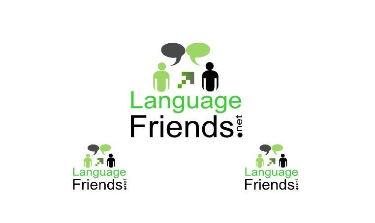 Конкурсная заявка №180 для Logo Design for An upcoming language exchange partner online portal, www.languagefriends.net