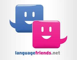 #211 for Logo Design for An upcoming language exchange partner online portal, www.languagefriends.net by orangedroplet