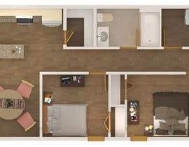 Nro 11 kilpailuun Floor Plans 3D Modeling käyttäjältä estylesta