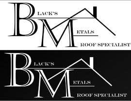 #103 para Design a Logo for Black's Metals por Conradhanekom