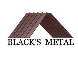 #17 para Design a Logo for Black's Metals por ThreeDs
