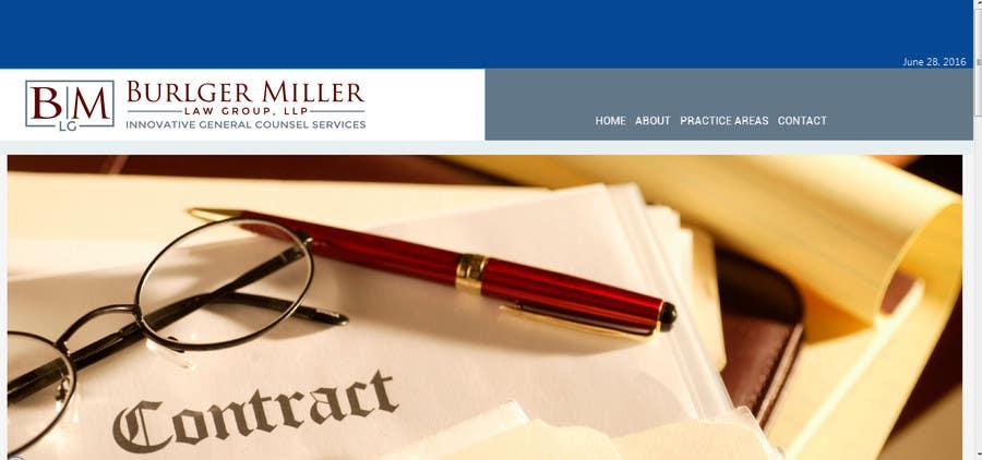 Kilpailutyö #33 kilpailussa Design a Logo for Business Law Firm