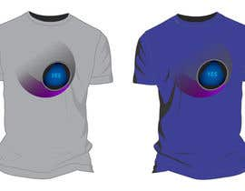 moilyp tarafından Design a T-Shirt that looks like a Magic 8 Ball Answer için no 15