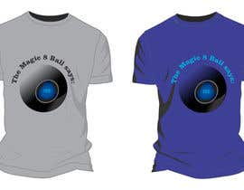moilyp tarafından Design a T-Shirt that looks like a Magic 8 Ball Answer için no 17