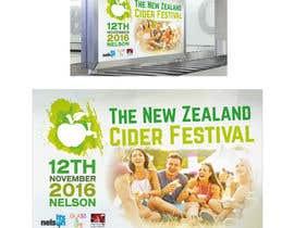 gidzibarra tarafından New Zealand Cider Festival Banner için no 28