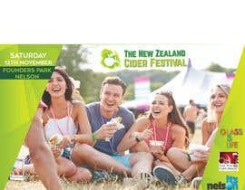 biplob36 tarafından New Zealand Cider Festival Banner için no 36