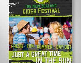 #7 for A3 Poster for The New Zealand Cider Festival by elgu
