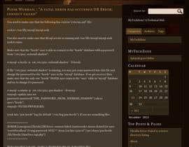 #11 for Repair wordpress site . URGENT !! af amu495amu495