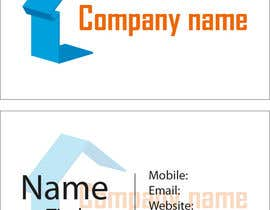 rajjab08 tarafından Design some Business Cards for new setup company için no 3