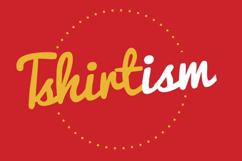 #150 for Design a Logo for tshirtism.com by dvdboldrin