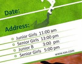Nro 4 kilpailuun Need an eye carching Tennis Coaching Lesson Flyer käyttäjältä chetaniya
