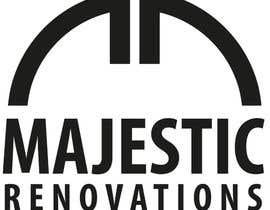 """Nro 178 kilpailuun Logo for New Renovations Company - """"Majestic Renovations"""" käyttäjältä masvenkatin2008"""