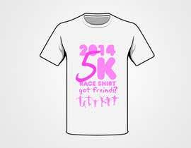 """#12 para 2014 Lillie's Friends """"Got Friends?"""" 5K Race Shirt Design por BrainJR"""
