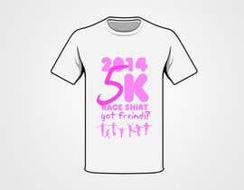 "Nro 12 kilpailuun 2014 Lillie's Friends ""Got Friends?"" 5K Race Shirt Design käyttäjältä BrainJR"