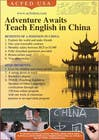"Contest Entry #28 for Design a Flyer: ""Adventure Awaits - Teach English in China"""