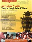 "Contest Entry #31 for Design a Flyer: ""Adventure Awaits - Teach English in China"""