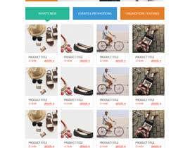 Nro 65 kilpailuun URGENT! Design a responsive website mockup [Top page only] käyttäjältä helalw3article