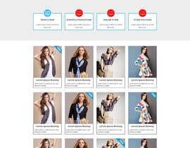 Nro 61 kilpailuun URGENT! Design a responsive website mockup [Top page only] käyttäjältä husainmill