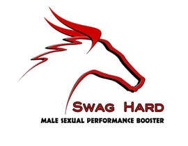 #20 for Design a Logo for Swag Hard - Supplement For Men by orangeotter1