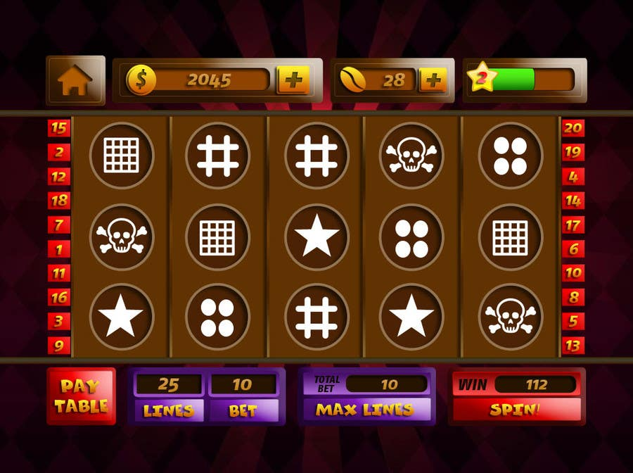 #22 for Design an App Mockup for a Slots App by sharpBD