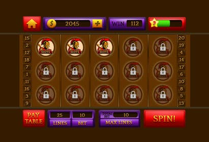 #30 for Design an App Mockup for a Slots App by sharpBD