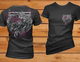 simrks tarafından AMAZING Tshirt Art Needed for Motorcycle Apparel Company için no 5