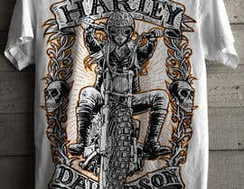 sawokecik28 tarafından AMAZING Tshirt Art Needed for Motorcycle Apparel Company için no 85