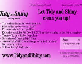 #1 untuk Design a Flyer for Tidy and Shiny (cleaning company) oleh nicoletaandreea